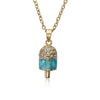 Sparkle Sweet Crystal Ice Cream Necklace