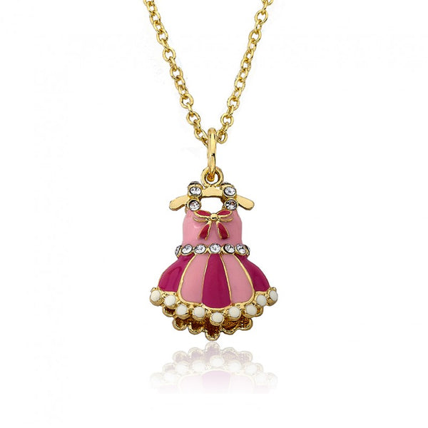 BALLET BEAUTY Ballet Dress Pendant Chain Necklace