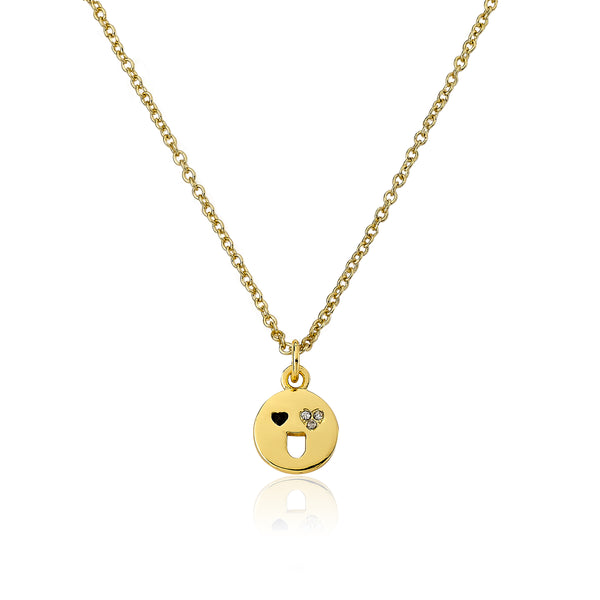 Smiley Face Emoji Necklace