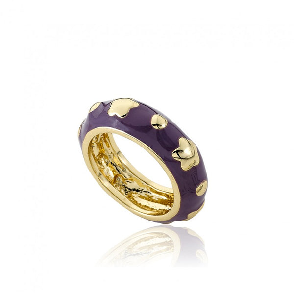 STACKABLE STUNNERS Flowers and Circles Ring