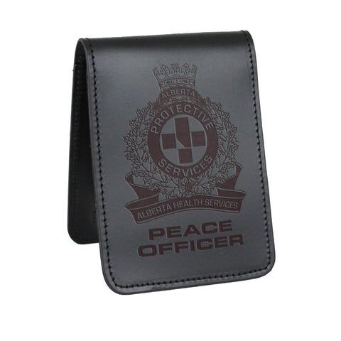 AHS Peace Officer Notebook Cover - Notebook Covers - Perfect Fit - 911 Duty Gear Canada - Duty Patrol Gear and Gifts. Recessed Leather Badge Wallets and ID Holders, Neck & Belt Badge Holders, Notebook Cover for Evidence, Memo book, Triform Notepads for field interviews.