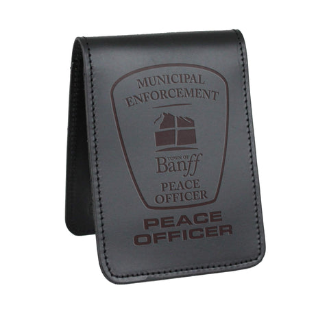 Banff Peace Officer Notebook Cover-Perfect Fit-911 Duty Gear Canada
