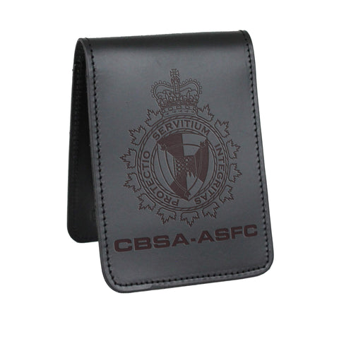CBSA Notebook Cover - Notebook Covers - Perfect Fit - 911 Duty Gear Canada - Duty Patrol Gear and Gifts. Recessed Leather Badge Wallets and ID Holders, Neck & Belt Badge Holders, Notebook Cover for Evidence, Memo book, Triform Notepads for field interviews.