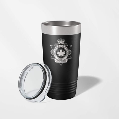 Correctional Service Canada Black Vacuum Insulated Tumbler-JDS-911 Duty Gear Canada