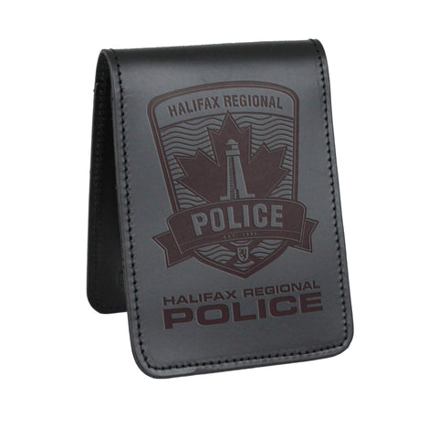 Halifax Regional Police Notebook Cover - Notebook Covers - Perfect Fit - 911 Duty Gear Canada - Duty Patrol Gear and Gifts. Recessed Leather Badge Wallets and ID Holders, Neck & Belt Badge Holders, Notebook Cover for Evidence, Memo book, Triform Notepads for field interviews.