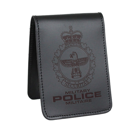 Military Police Notebook Cover - Notebook Covers - Perfect Fit - 911 Duty Gear Canada - Duty Patrol Gear and Gifts. Recessed Leather Badge Wallets and ID Holders, Neck & Belt Badge Holders, Notebook Cover for Evidence, Memo book, Triform Notepads for field interviews.