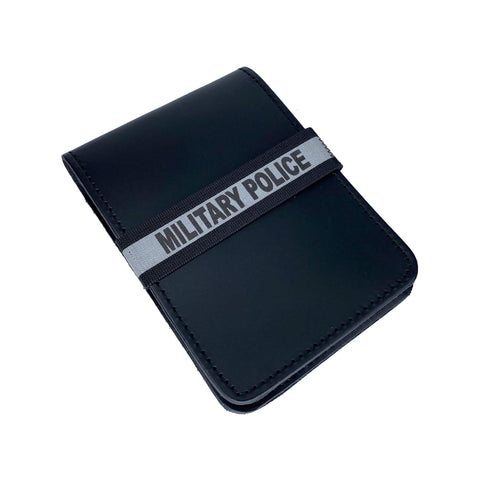 Military Police Notebook ID Band - Notebook Band - Notebands - 911 Duty Gear Canada - Duty Patrol Gear and Gifts. Recessed Leather Badge Wallets and ID Holders, Neck & Belt Badge Holders, Notebook Cover for Evidence, Memo book, Triform Notepads for field interviews.
