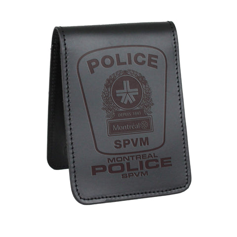 Montreal Police SPVM Notebook Cover-Perfect Fit-911 Duty Gear Canada
