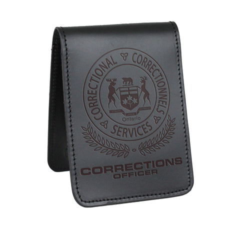 Ontario Corrections Notebook Cover-Perfect Fit-911 Duty Gear Canada