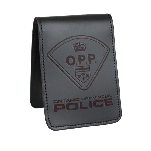 O.P.P. Notebook Cover - Notebook Covers - Perfect Fit - 911 Duty Gear Canada - Duty Patrol Gear and Gifts. Recessed Leather Badge Wallets and ID Holders, Neck & Belt Badge Holders, Notebook Cover for Evidence, Memo book, Triform Notepads for field interviews.