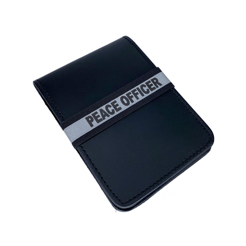 Peace Officer Notebook ID Band - Notebook Band - Notebands - 911 Duty Gear Canada - Duty Patrol Gear and Gifts. Recessed Leather Badge Wallets and ID Holders, Neck & Belt Badge Holders, Notebook Cover for Evidence, Memo book, Triform Notepads for field interviews.