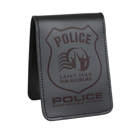 Saint-Jean-Sur-Richelieu Police Notebook Cover-Perfect Fit-911 Duty Gear Canada