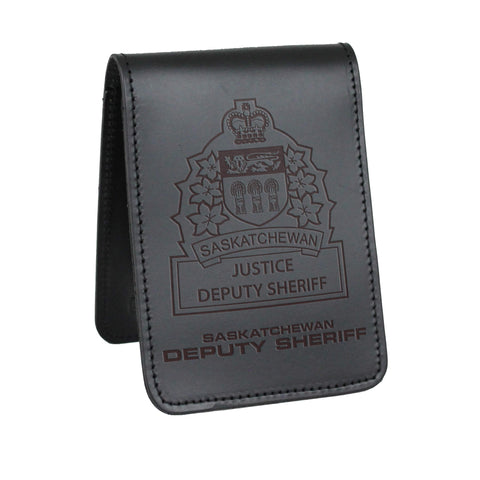 Saskatchewan Justice Deputy Sheriff Notebook Cover-Perfect Fit-911 Duty Gear Canada