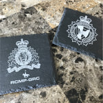 AHS Peace Officer Stone Slate Coasters-911 Duty Gear-911 Duty Gear Canada