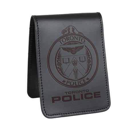 Toronto Police Notebook Cover - Notebook Covers - Perfect Fit - 911 Duty Gear Canada - Duty Patrol Gear and Gifts. Recessed Leather Badge Wallets and ID Holders, Neck & Belt Badge Holders, Notebook Cover for Evidence, Memo book, Triform Notepads for field interviews.