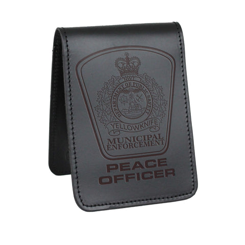 Yellowknife Municipal Enforcement Peace Officer Notebook Cover-Perfect Fit-911 Duty Gear Canada