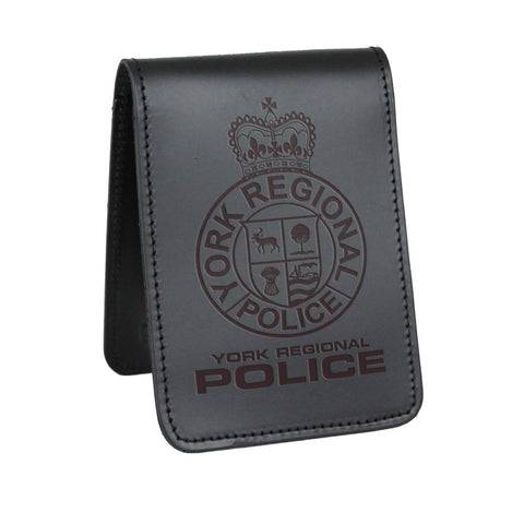 York Regional Police Notebook Cover - Notebook Covers - Perfect Fit - 911 Duty Gear Canada - Duty Patrol Gear and Gifts. Recessed Leather Badge Wallets and ID Holders, Neck & Belt Badge Holders, Notebook Cover for Evidence, Memo book, Triform Notepads for field interviews.