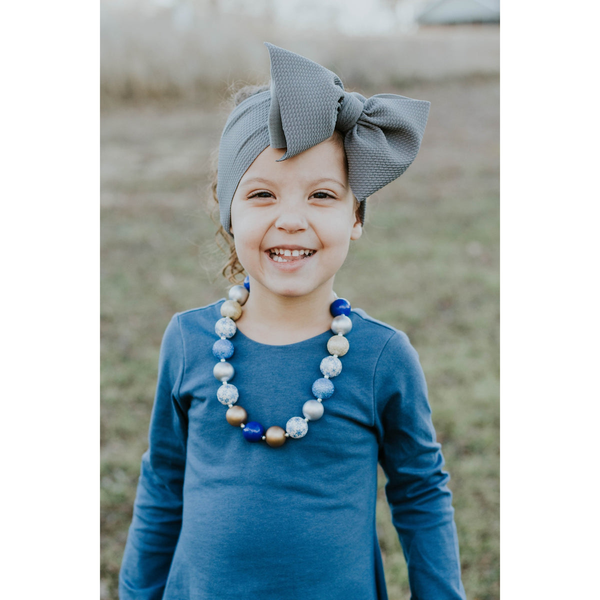 "gray ""chandler"" headwrap"