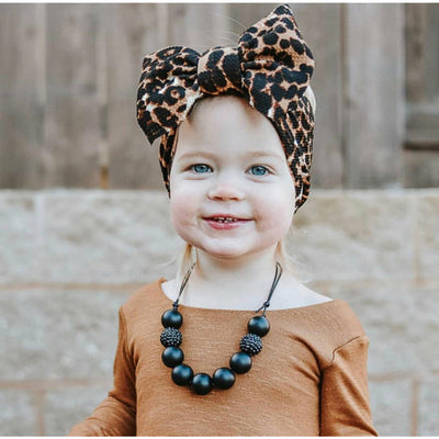 "leopard ""chandler"" headwrap"