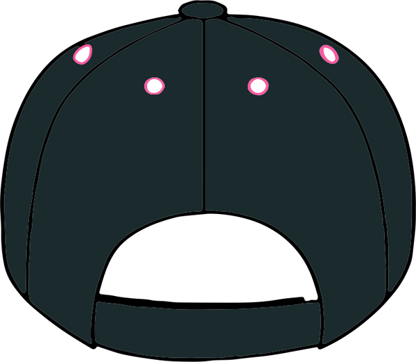 Fancy Crescent Moon Hat