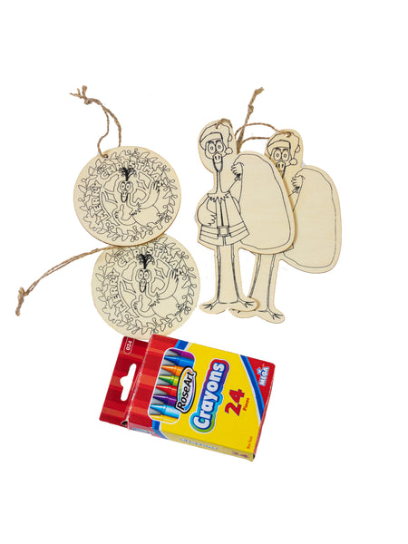 Christmas Ornaments (set of 2)