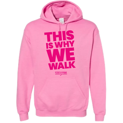 This Is Why We Walk Hoodie