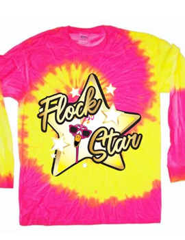 FlockStar Tie Dye Long Sleeve Tshirt