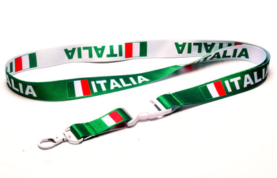 Israel flag reversible lanyard//keychain with clip for  id badges//keys