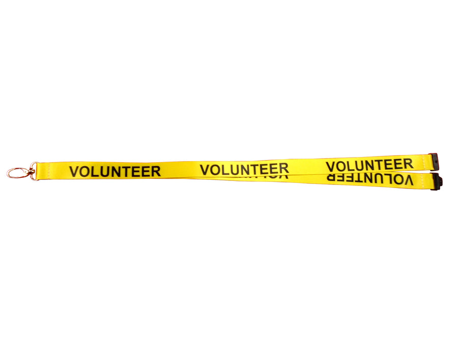Volunteer Yellow Lanyard