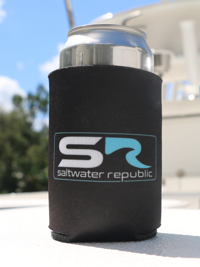 Classic SR Coozie - Black & Teal