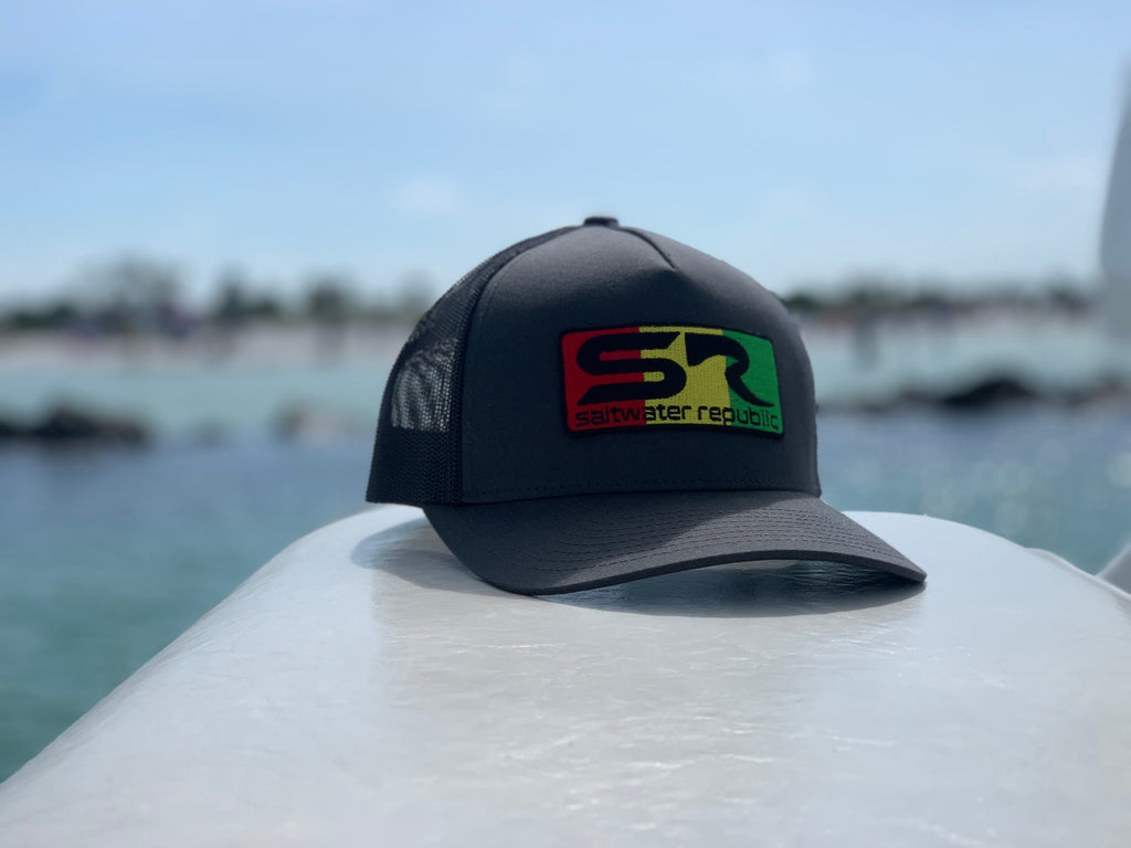 Rasta SR Hat - Grey & Black