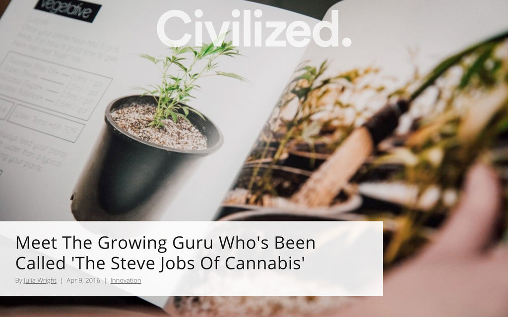 Civilized.life - Meet The Growing Guru Who's Been Called 'The Steve Jobs Of Cannabis'