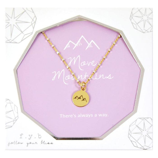 MOVE MOUNTAINS SHIMMER CHARM NK
