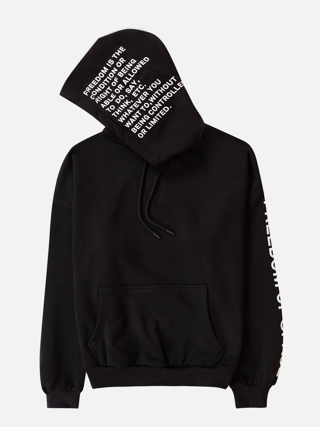 Definition Hoodie Black
