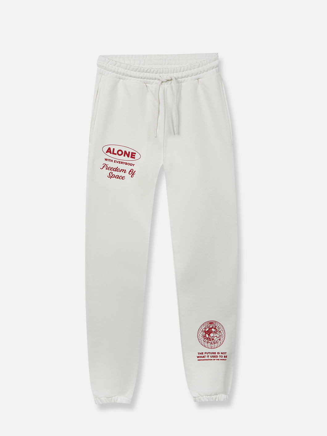Mental Distance Lounge Pants Off-White
