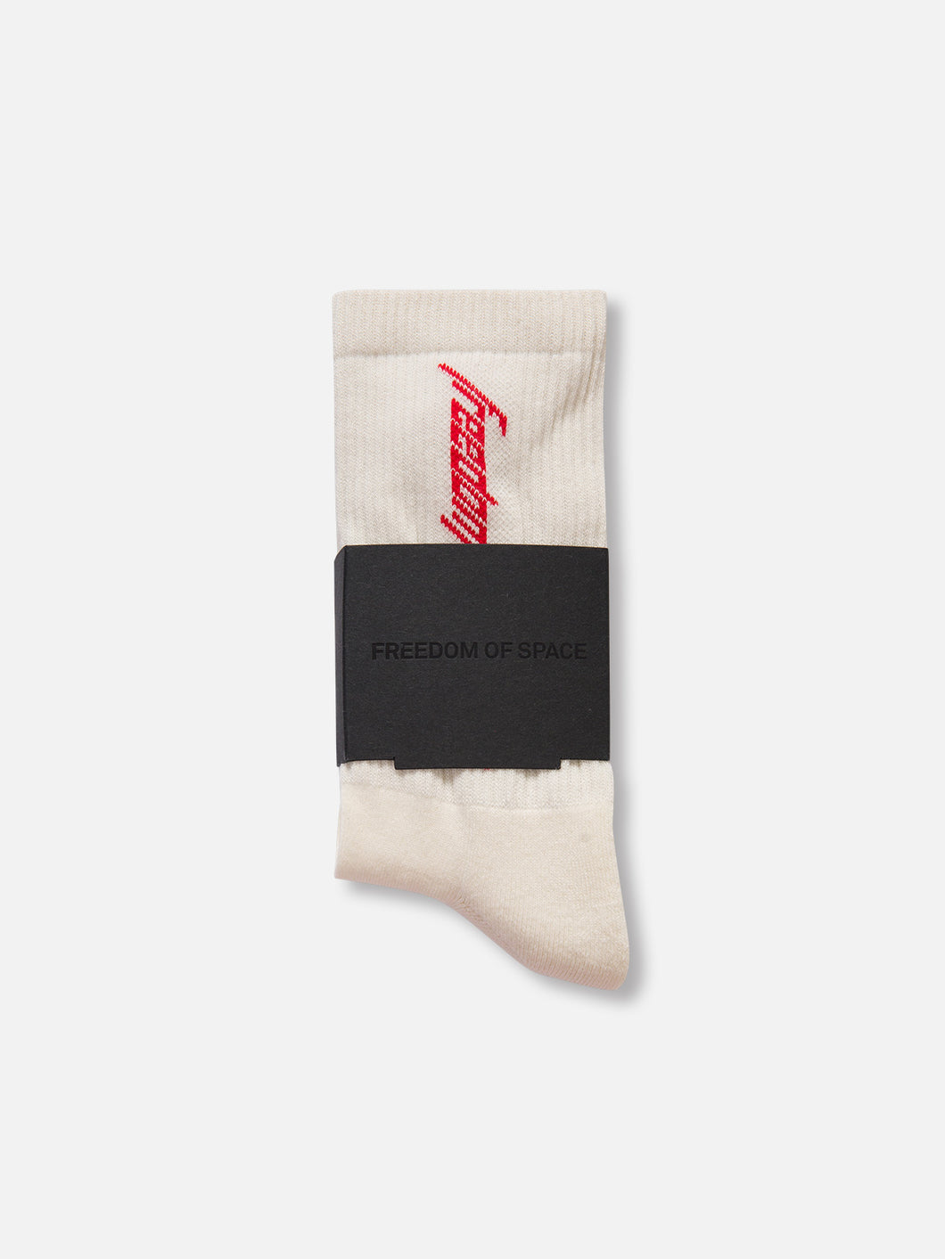 Freedom of Space Socks Ivory