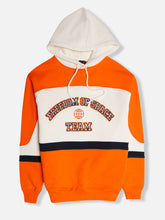 'Team' Hoodie Orange/Off White