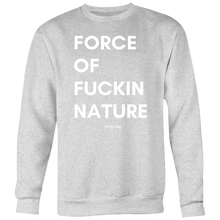 Load image into Gallery viewer, FORCE OF NATURE CREWNECK - Spiritual Swag