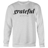 GRATEFUL CREWNECK - Spiritual Swag