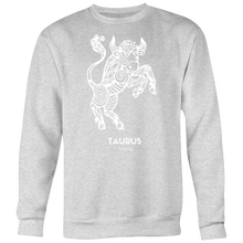 Load image into Gallery viewer, TAURUS CREWNECK - Spiritual Swag