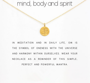 OM NECKLACE - Spiritual Swag