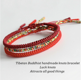 TIBETAN BUDDHIST KNOTS BRACELET FOR PROTECTION - Spiritual Swag