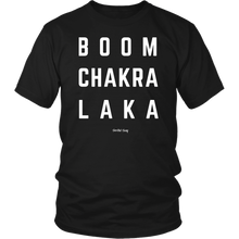 Load image into Gallery viewer, BOOM CHAKRA LAKA TEE - Spiritual Swag