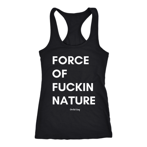 FORCE OF NATURE TANK - Spiritual Swag