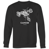 CANCER CREWNECK - Spiritual Swag
