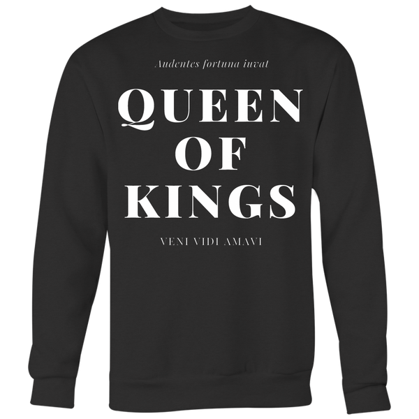 QUEEN OF KINGS CREWNECK - Spiritual Swag