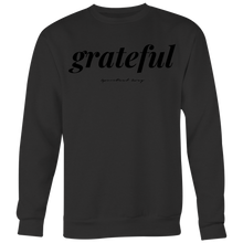 Load image into Gallery viewer, GRATEFUL CREWNECK - Spiritual Swag