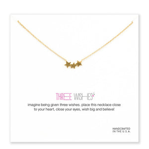 THREE WISHES NECKLACE - Spiritual Swag