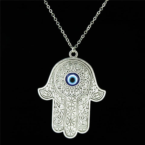 HAND OF FATIMA NECKLACE - Spiritual Swag