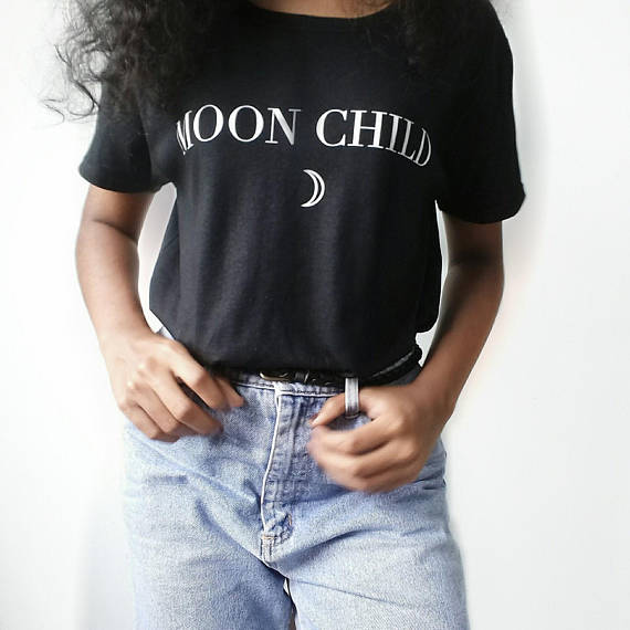 MOON CHILD TEE - Spiritual Swag